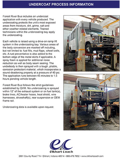 Undercoat Process Information